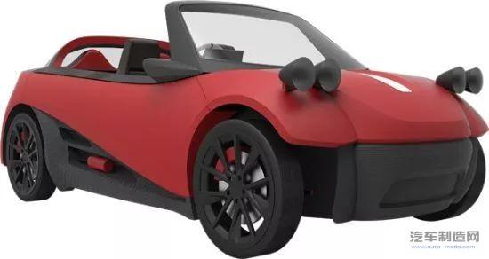 2022年全球汽车行业3D打印市场将达到23.91亿美元