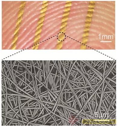 未来用于长期的健康监测:透气可穿戴皮肤传感器