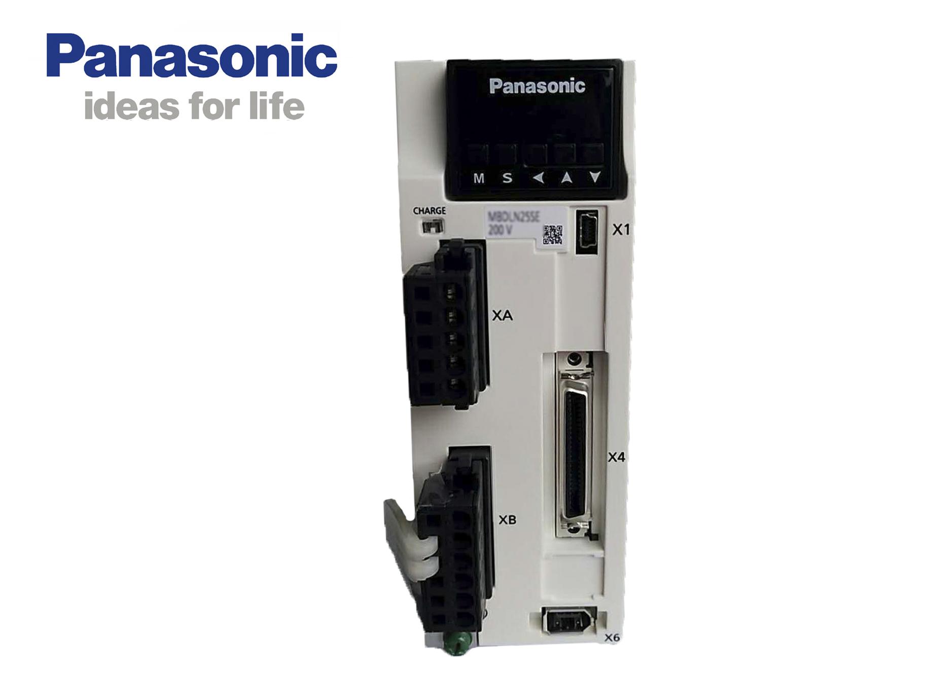 松下A6  MBDLN25SE伺服放大器 20A、(通用型)脉冲型专用