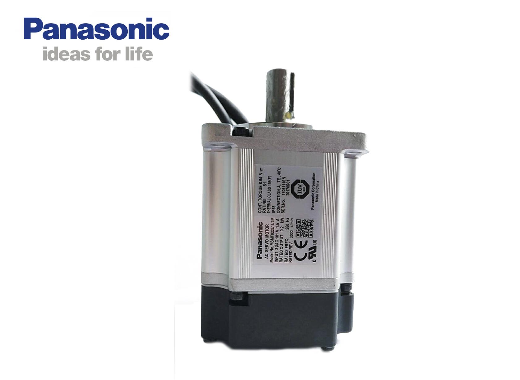 松下A6 MSMF022L1U2M伺服电机 低惯量200W 不带刹车/有油封