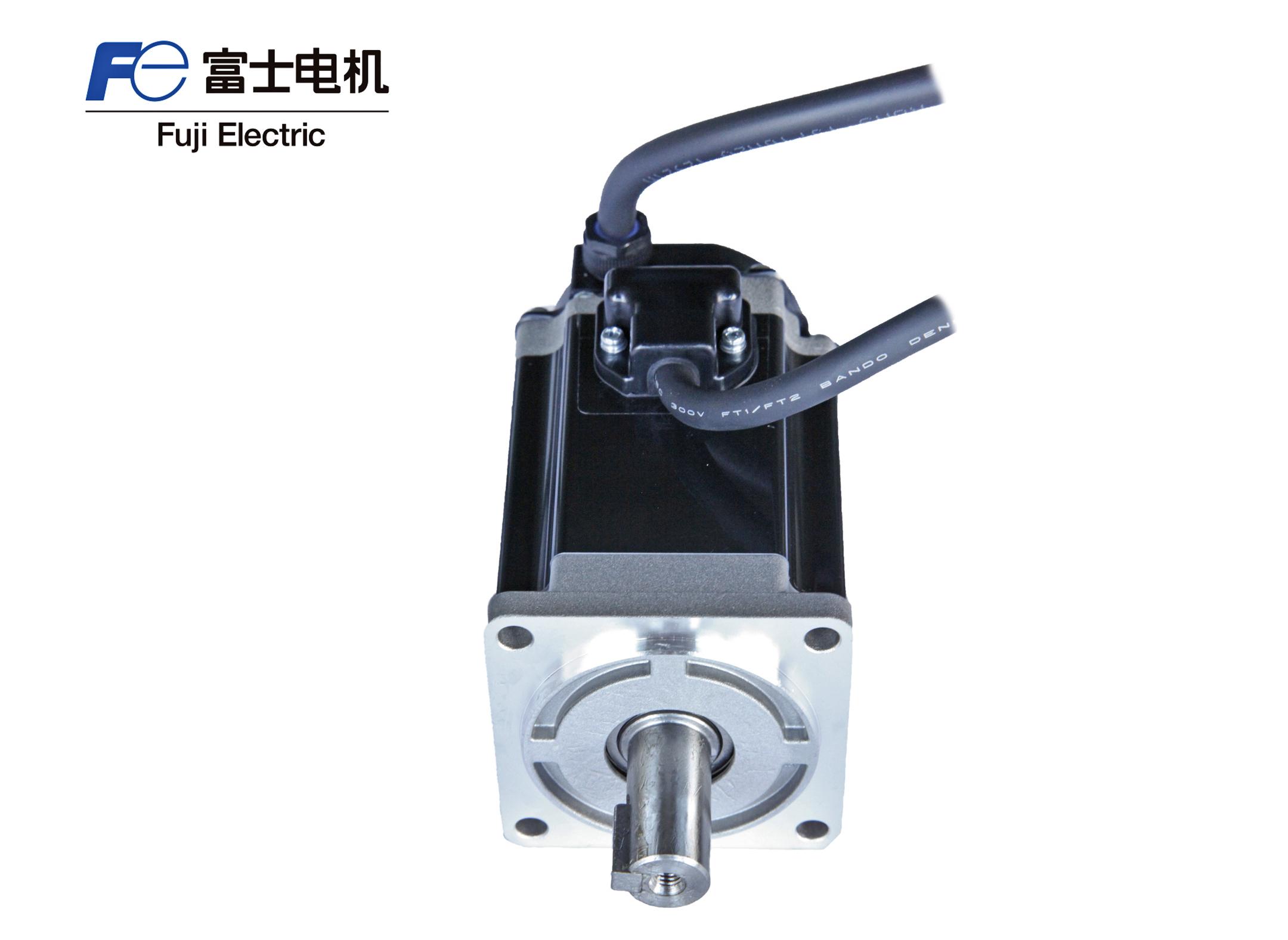 富士GYB401D5-RC2伺服电机400W 无制动无油封带键