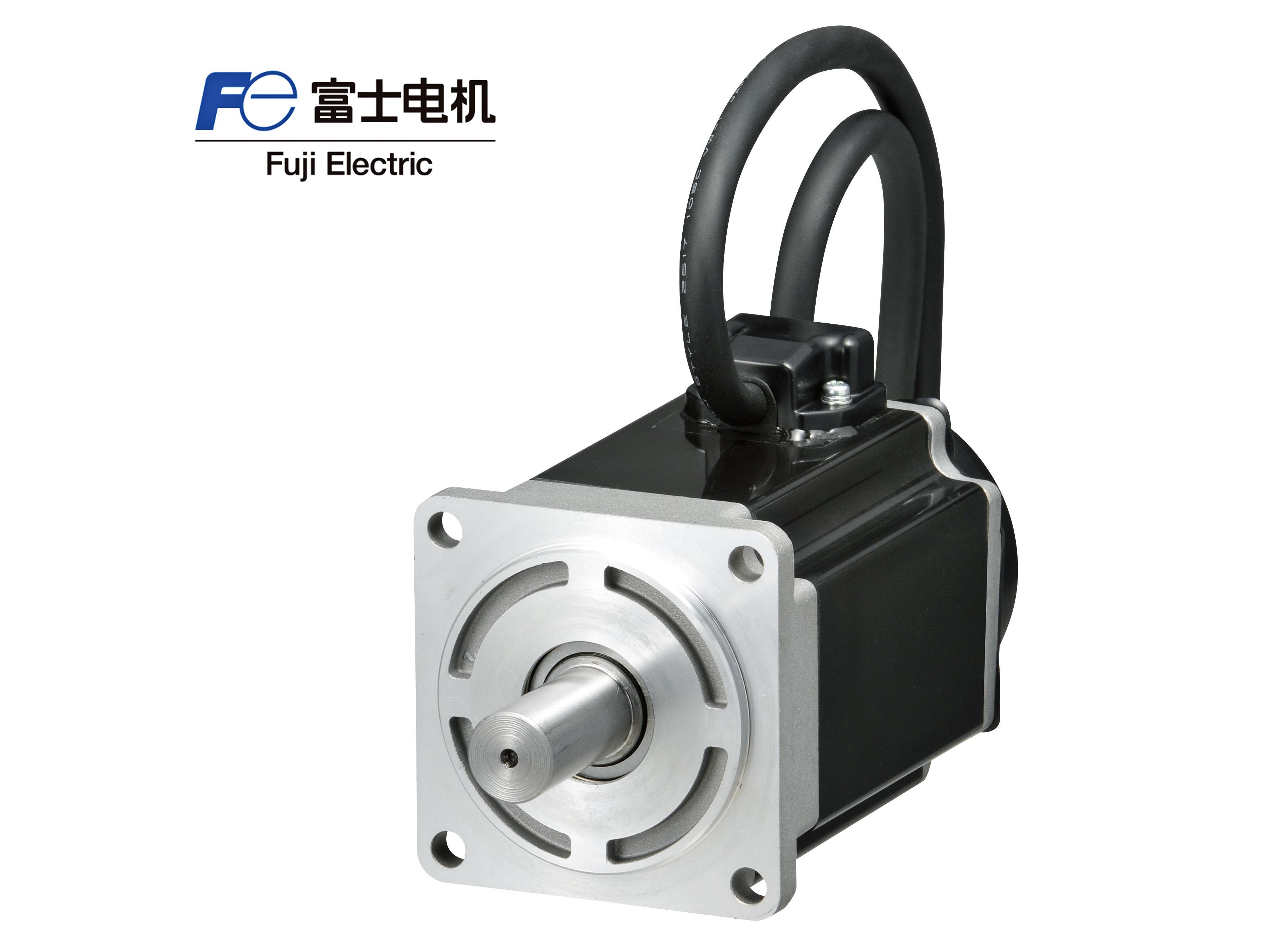富士GYB201D5-RC2伺服电机200W 无制动无油封带键