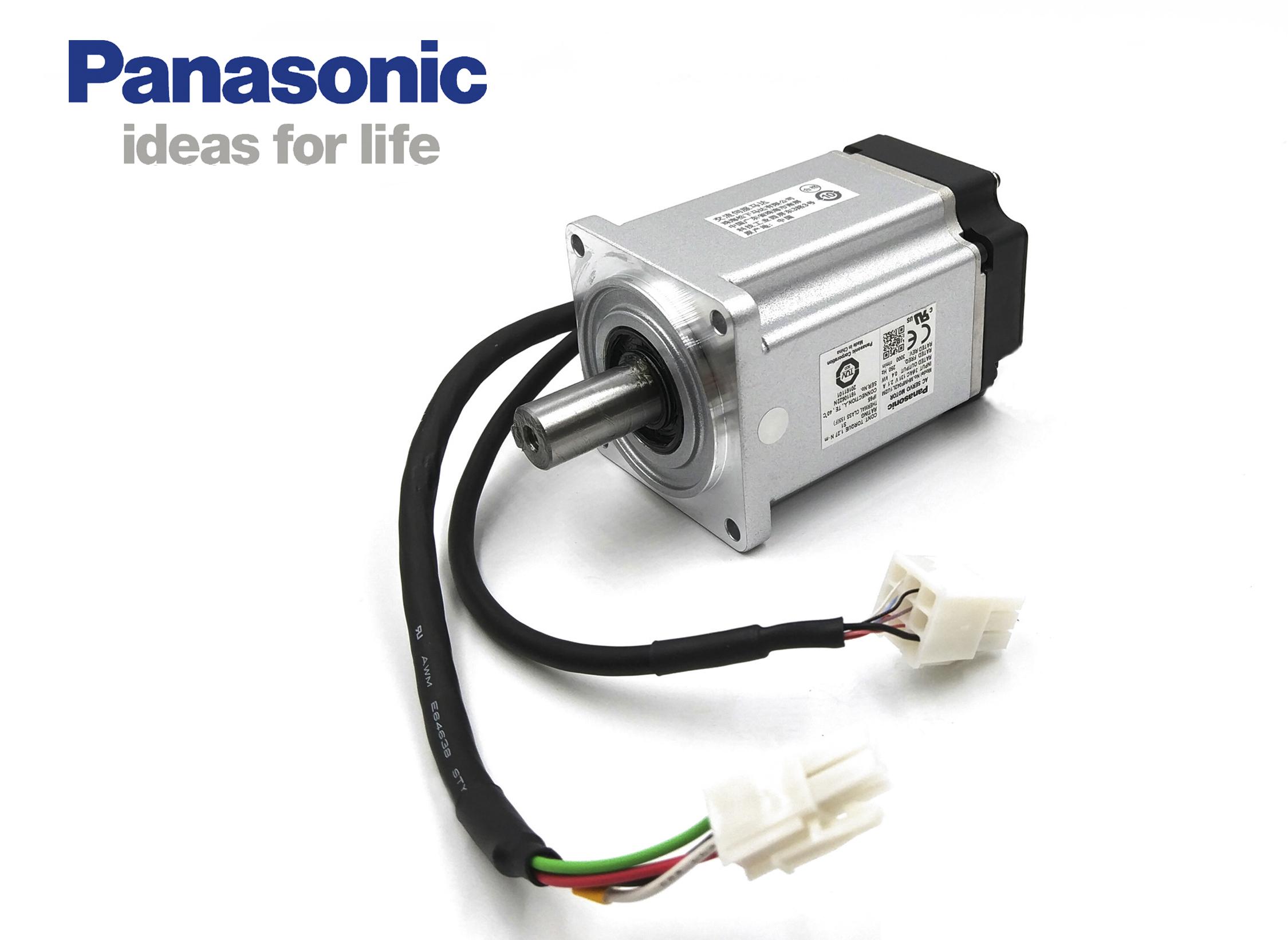 松下A6 MSMF042L1U2M伺服电机 低惯量400W 不带刹车/有油封