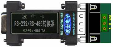 波仕rs232/rs485串口转换器,光纤转换器产品视频