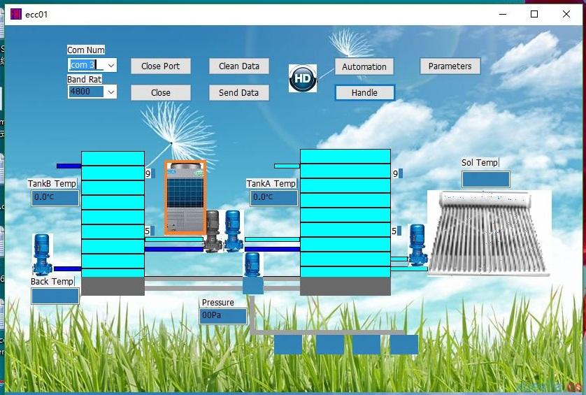 深圳富睿自动化控制软件控制界面开发FP-AUTO