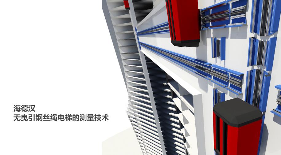 海德汉无曳引钢丝绳电梯的测量技术