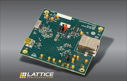 莱迪思推出基于嵌入式视觉的开发套件——USB3-GigE VIP IO板