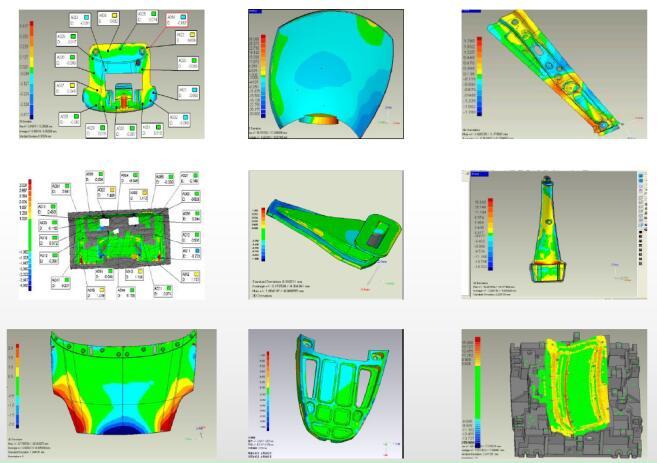 非接触式三维测量检测系统