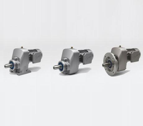 诺德推出新型NORDBLOC.1单级斜齿轮减速电机