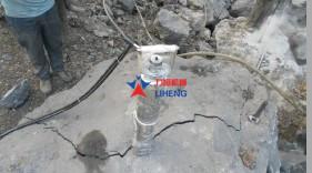 边坡岩石破除设备劈裂机