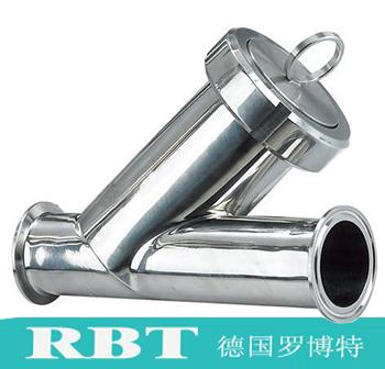 进口卫生级快装过滤器【德国进口知名品牌RBT】