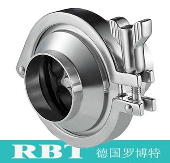 进口卫生级焊接式止回阀【RBT德国进口知名品牌】