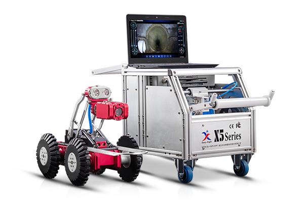 中仪股份 X5-HT 管道检测机器人