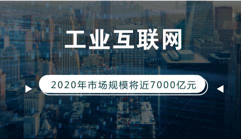 2020年我国工业互联网市场规模将近7000亿元