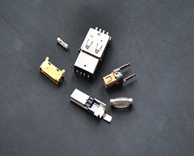 冲压件-电脑连接头-USB接口-冲压加工