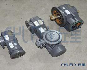 SF47斜齿轮蜗轮减速机 高清图 细节图