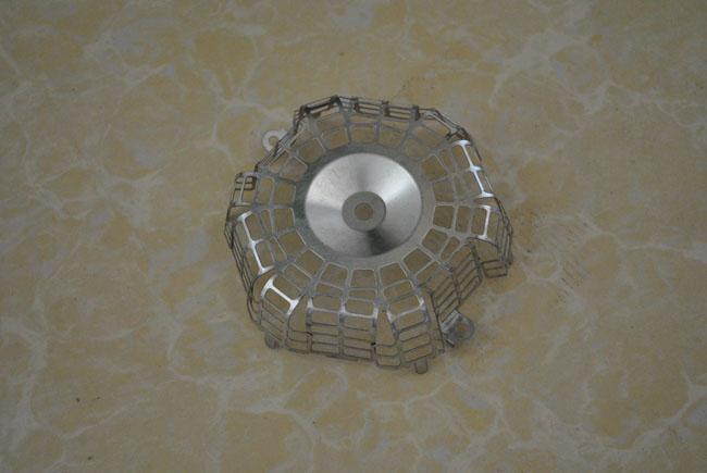 冲压加工-金属冲压成型-灯罩底板