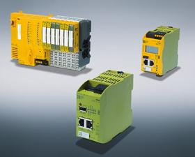 皮尔磁:工业安全网桥PCOM sec br提升机器设备的工业安保性