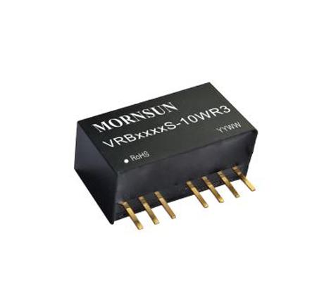 金升阳更高功率密度SIP8封装10W R3系列DC/DC电源模块
