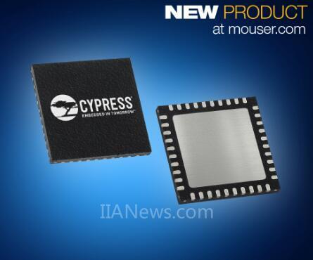 贸泽推出CypressSemiconductor的CYW20719双模蓝牙®无线微控制器