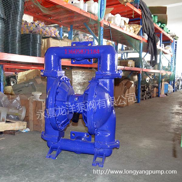 qby3第三代铸铁气动隔膜泵