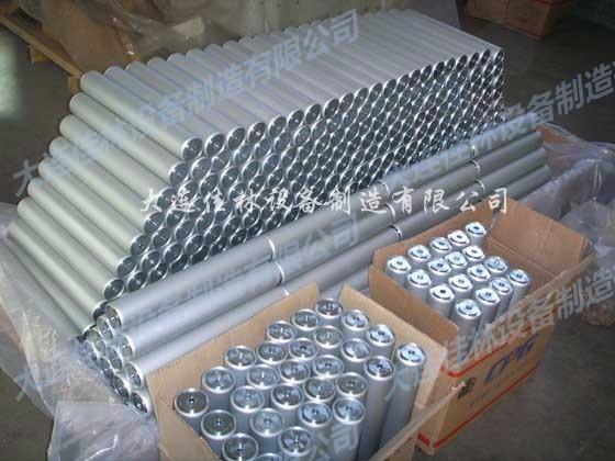 出口铝制滚筒-动力辊筒-万向球-输送机配件