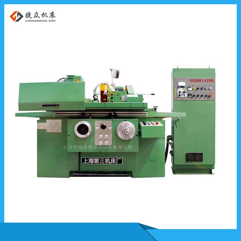 上海外圆磨床改造数控加装机器人机械手自动送料机捷众机床