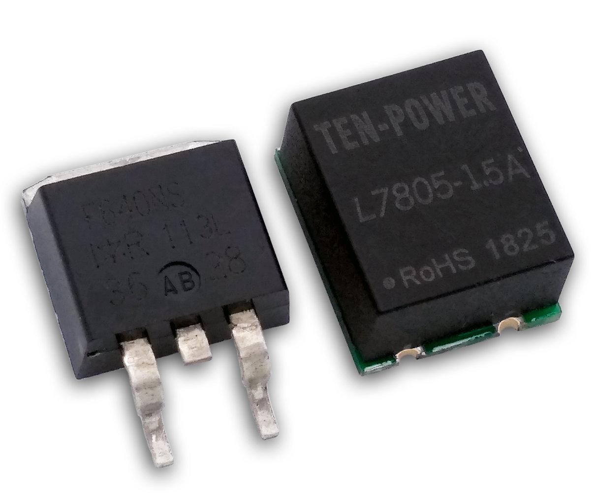 贴片式开关型三端稳压器L7805-1.5A