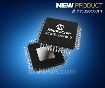 贸泽推出ATmega48098位单片机——为高响应命令与控制应用提供支持