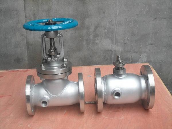DN50不锈钢气动保温球阀