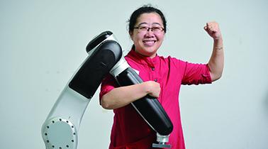 李群自动化:成为世界级轻量机器人领军者