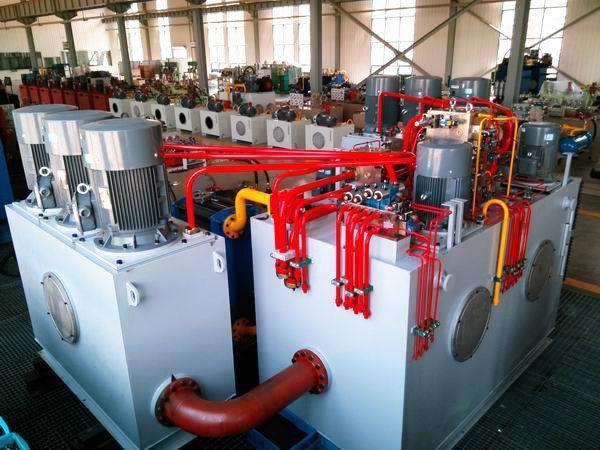 电液成套系统,液压系统集成控制站