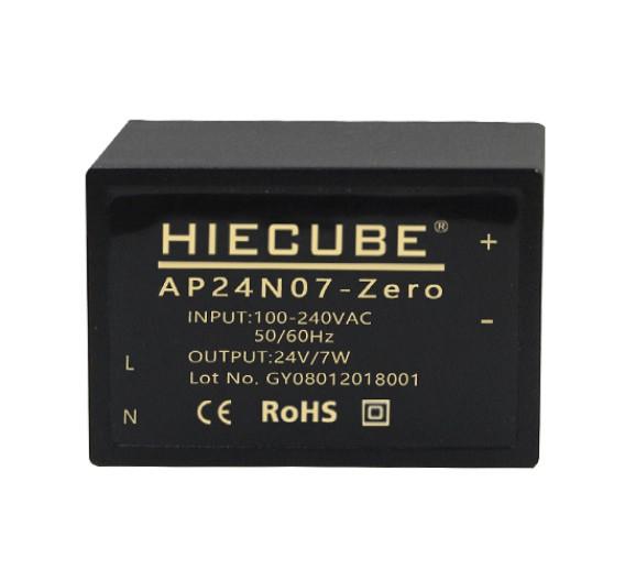 通讯系统模块电源220V转24V7W小体积ac-dc电源模块