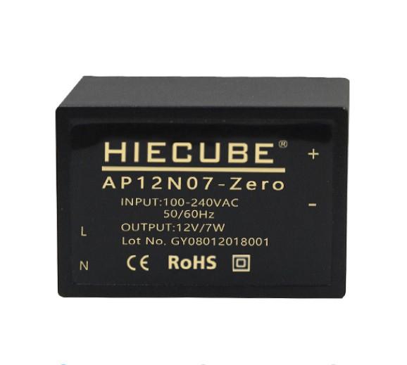 工业自动化控制系统隔离电源220V转12V7W电源模块