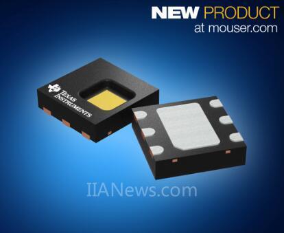 贸泽推出TIHDC2080数字温湿传感器——让智能设备精度更高、功耗更低
