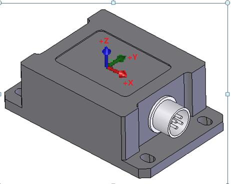 供应MMS-A01型三轴有线加速度传感器