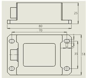 MMS-F-A01无线加速度传感器