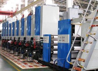 新研发出Y210新款高档烟包印刷机