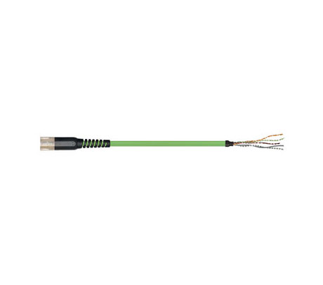 igus readycable® 反馈电缆,符合Allen Bradley标准2090-CFBM7DF-CDAFxx,基础电缆PUR 7.5 x d