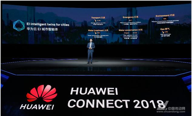 华为云推EI城市智能体,全面进入AI新时代