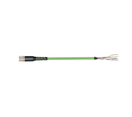igus readycable® 反馈电缆,符合Allen Bradley标准2090-CFBM7DF-CDAFxx,基础电缆PUR 10 x d