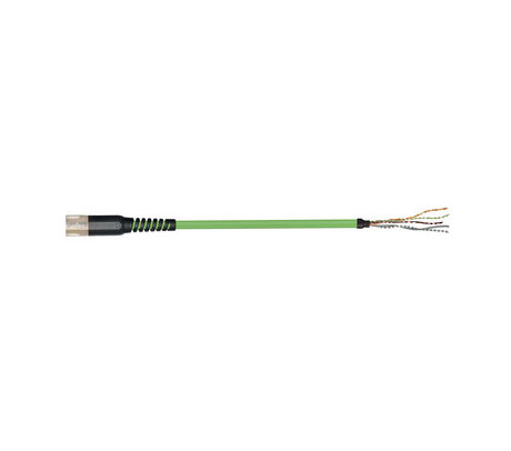 igus readycable® 反馈电缆,符合Allen Bradley标准2090-CFBM7DF-CDAFxx,基础电缆TPE 7.5 x d