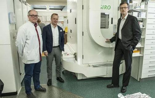 人机协作 | 智慧药房=SICK 传感器+新型 Cappsel 药房机器人