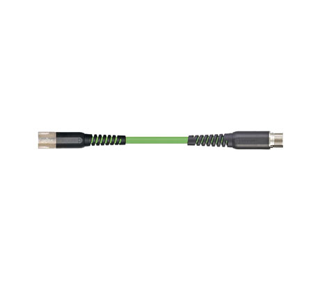 igus readycable® 反馈电缆,符合Allen Bradley标准2090-CFBM7E7-CDAFxx,延长电缆PUR 10 x d