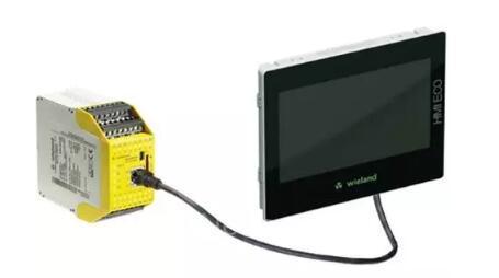 威琅电气推出新品IP66触摸屏HMIECO,支持hmiPLAN软件编程