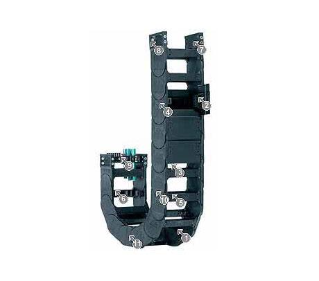 igus 14040系列拖链,每个链节可在两侧打开