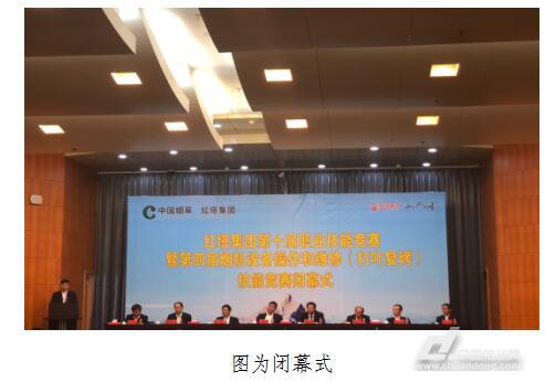 红塔集团第四届烟机竞赛成功举办