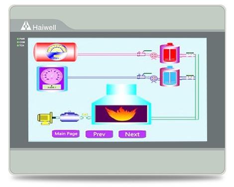 Haiwell海为10寸wifi以太网云HMI人机界面C10-W