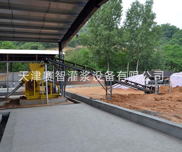 大型矿山注浆防灭火黄泥注浆站设备清单表 天津赛智
