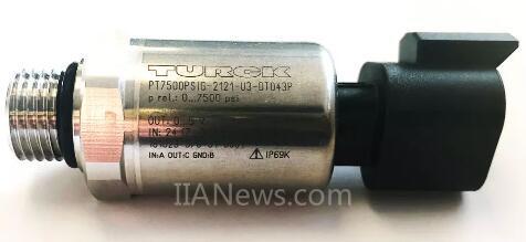 图尔克扩充移动机械领域的压力变送器产品
